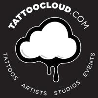 TattooCloud Round Blk 200x200