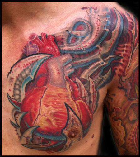 Anatomical_heart_biomech-color-tattoo