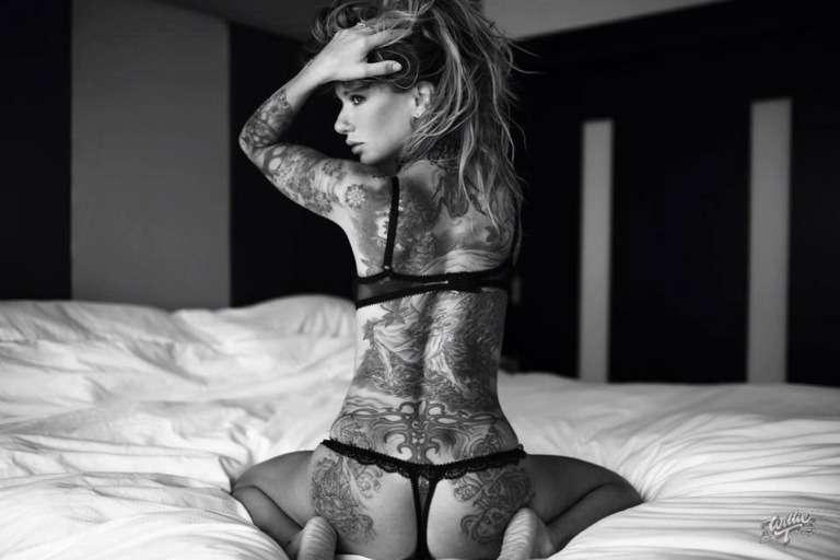 Sexiest tattooed female models