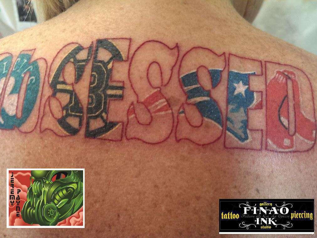 Finao artist jeremy payne celtics boston celtics bruins for Tattoo artists boston
