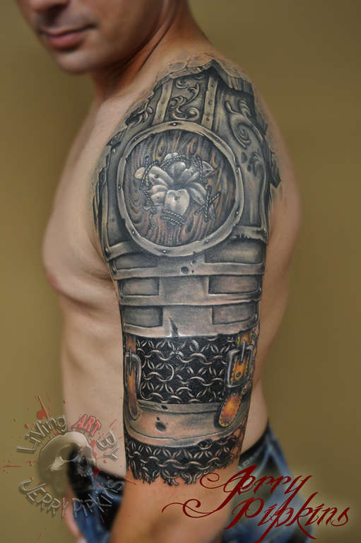 Latest Chain mail Tattoos | Find Chain mail Tattoos