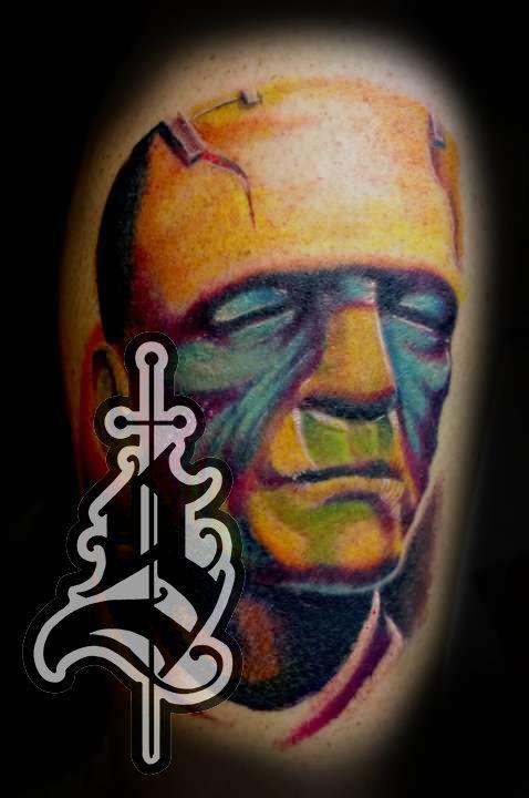 Frankensteins_monster_color_portrait_tattoo