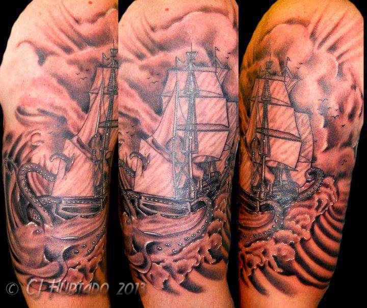 Ship-octopus