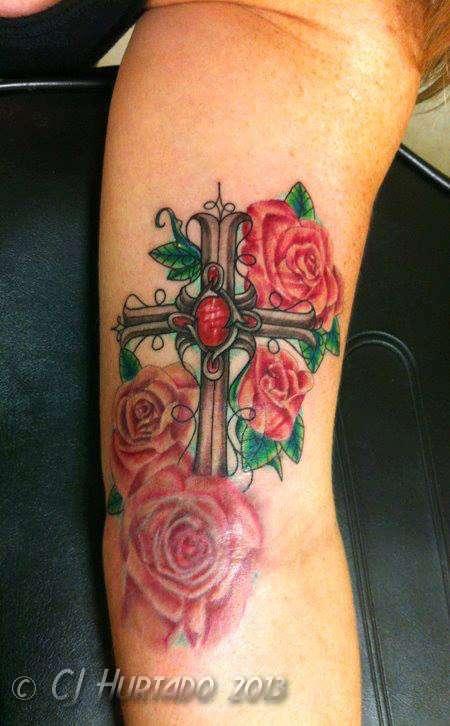 Cross-roses