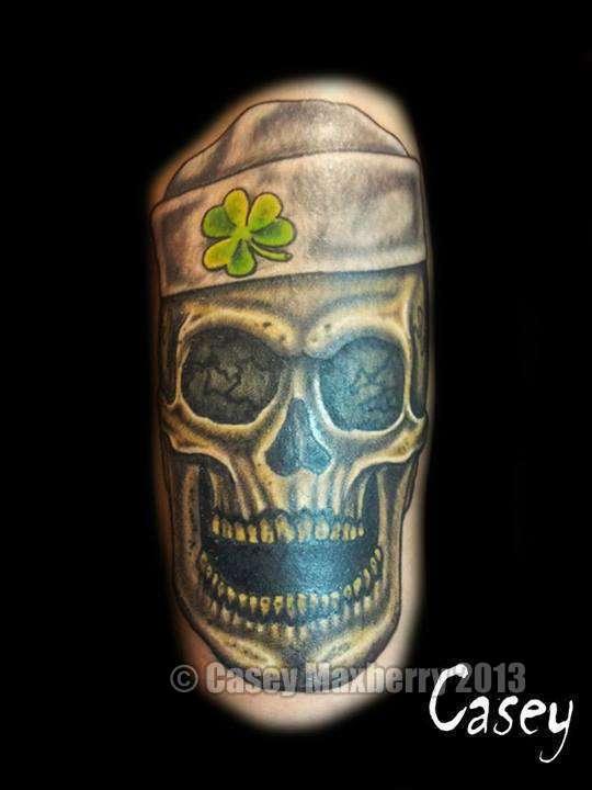 Clover-skull