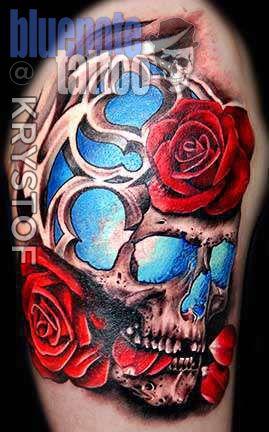 Club-tattoo-krystof-las-vegas-skull-planet-hollywood