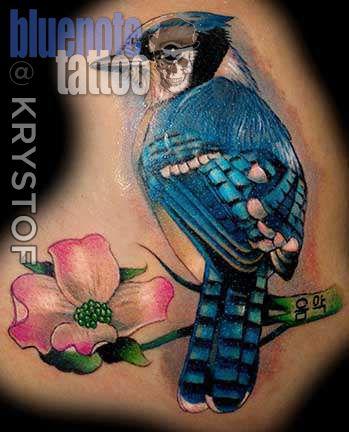 Club-tattoo-krystof-las-vegas-planet-hollywod-blue-jay