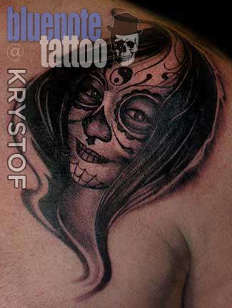 Club-tattoo-krystof-day-of-dead-girl-planet-hollywood