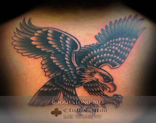 Club-tattoo-josh-stono-las-vegas-planet-hollywood-miracle-mile-shops-eagle