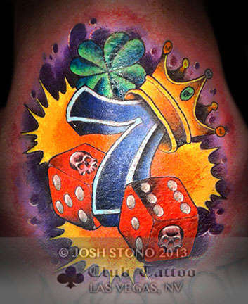 Club-tattoo-josh-stono-las-vegas-planet-hollywood-miracle-mile-shops-dice