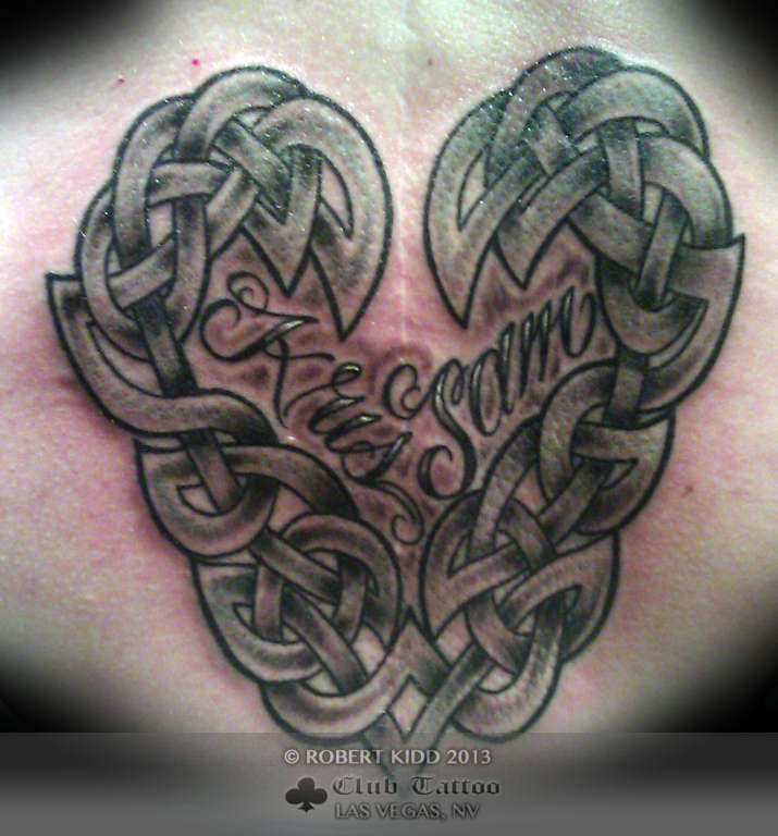 Robertkidd ter black and grey lettering celtic for Grey tattoo writing