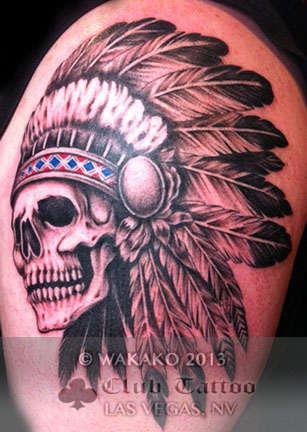 Club-tattoo-wakako-las-vegas-skull-2
