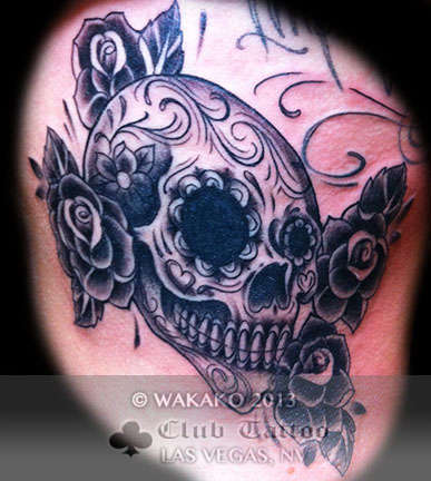 Club-tattoo-wakako-las-vegas-skull-1