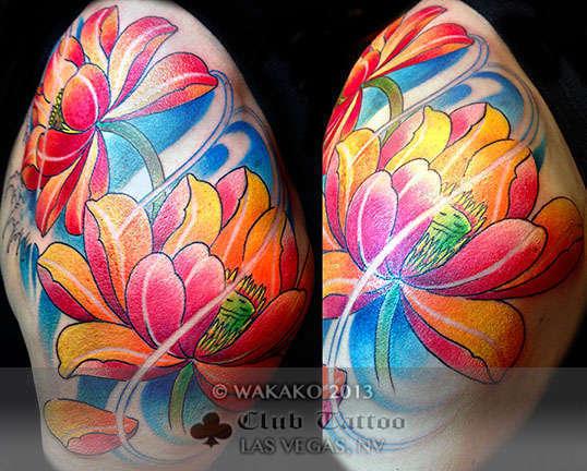 Club-tattoo-wakako-japanese-las-vegas-flowers-3