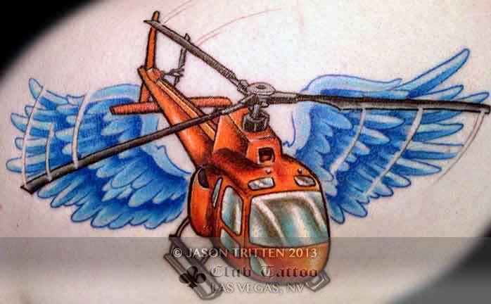 Club-tattoo-jason-tritten-las-vegas-helicopter-planet-hollywood