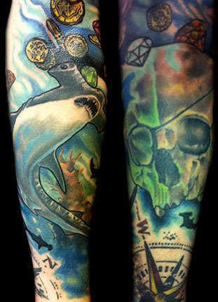 Club-tattoo-derek-rubright-laas-vegas-planet-hollywood-6
