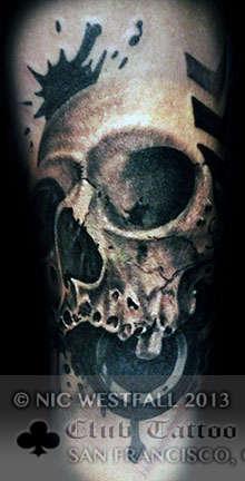 Club-tattoo-nic-westfall-san-franciso-skull-1
