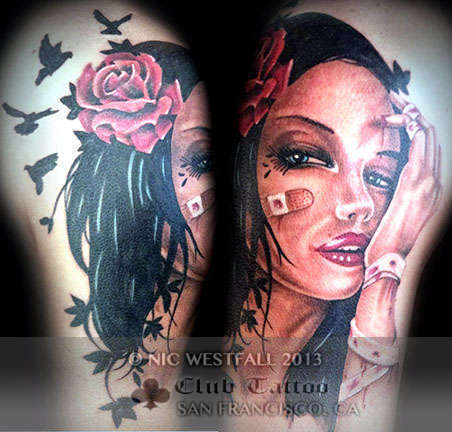 Club-tattoo-nic-westfall-san-franciso-skull-color-portrait