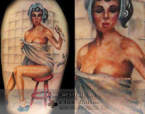 Club-tattoo-nic-westfall-san-francisco-pier-39-pin-up