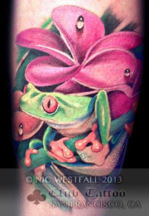 Club-tattoo-nic-westfall-san-francisco-pier-39-frog-1
