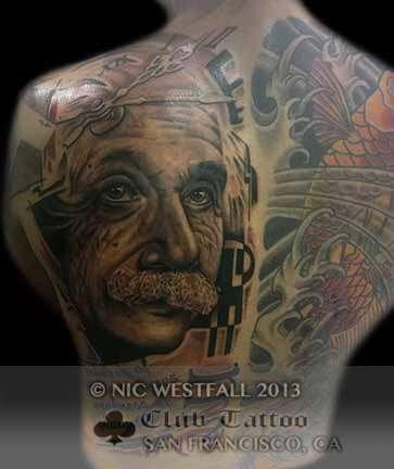 Club-tattoo-nic-westfall-san-francisco-pier-39-einstein