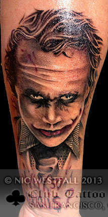 Club-tattoo-nic-westfall-san-francisco-joker-heath-ledger