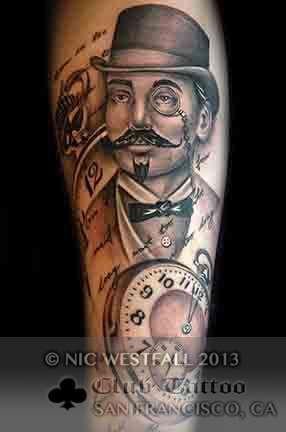 Club-tattoo-nic-westfall-sa-francisco-pier-39
