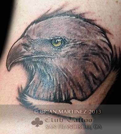 Club-tattoo-brian-martinez-san-francisco-pier-39-eagle