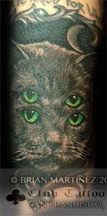 Club-tattoo-brian-martinez-san-francisco-pier-39-cat