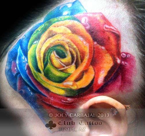 Club-tattoo-joey-carbajal-tempe-rose-1