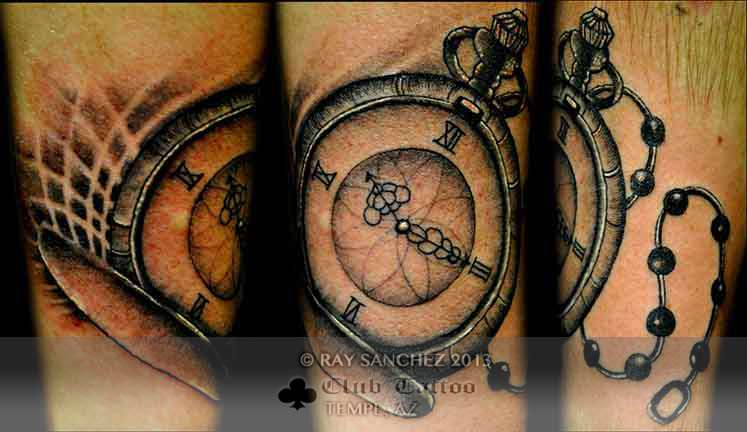 Club-tattoo-ray-sanchez-tempe-stop-watch