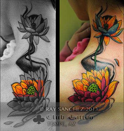 Club-tattoo-ray-sanchez-tempe-lotus