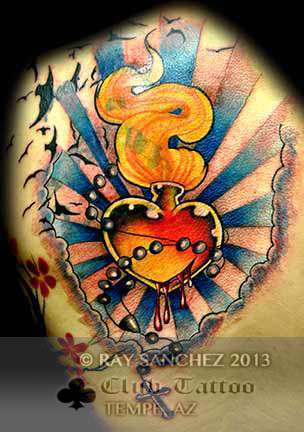 Club-tattoo-ray-sanchez-tempe-sacred-heart