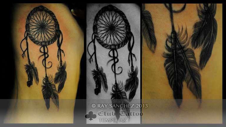 Club-tattoo-ray-sanchez-tempe-dreamcatcher