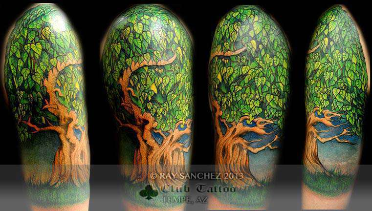 Club-tattoo-ray-sanchez-tempe-asu-tree