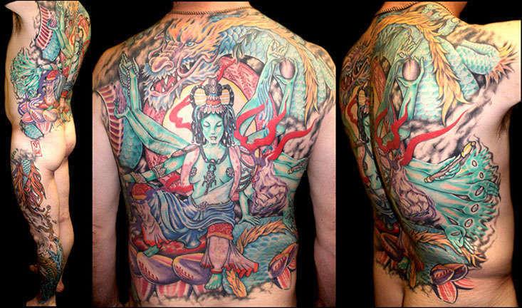 Club-tattoo-jen-mayer-tempe-hindu-backpiece