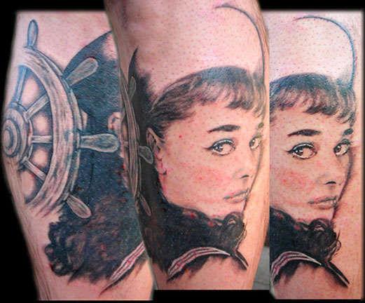 Club-tattoo-jen-mayer-tempe-audry-hepburn