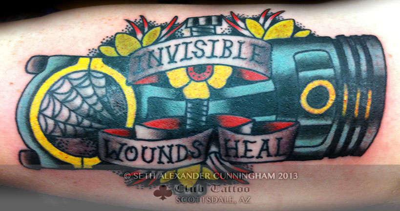 Club-tattoo-seth-alexander-cunningham-scottsdale-traditional-piston