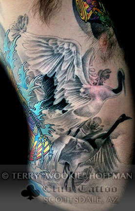 Club-tattoo-terry-wookie-hoffman-scottsdale-cranes
