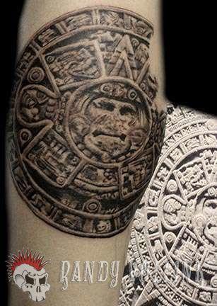 Club-tattoo-randy-vollink-scottsdale-mayan-calendar-jpg