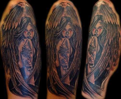 Club-tattoo-shay-milford-mesa-angel-pin-up