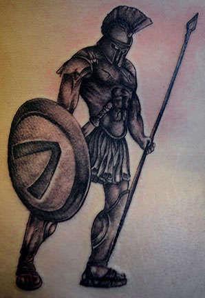 Club-tattoo-shay-mesa-spartan-warrior
