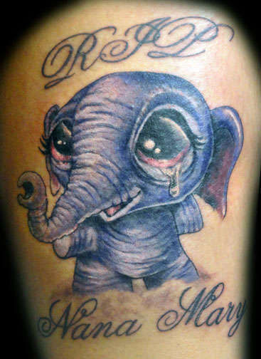 Club-tattoo-shay-mesa-baby-elephant