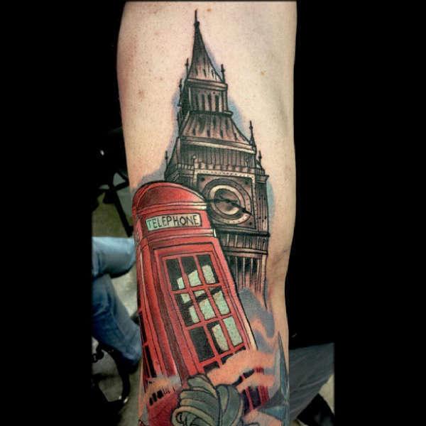 Travisbroylestribute To England United Kingdom Tattoo Uk