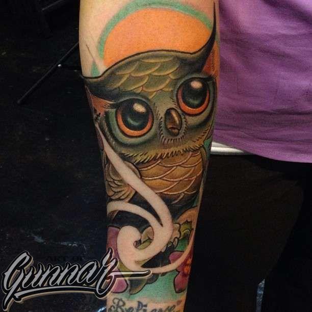 Gunnar-owl