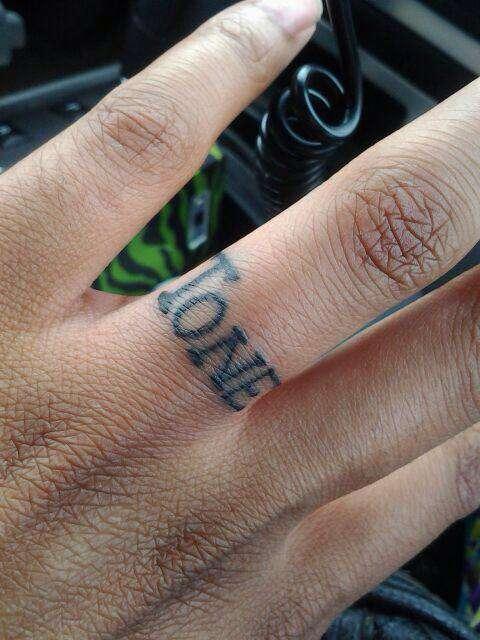 Lisa Tone Ring Finger Finger Tattoos For Love Love Tattoos