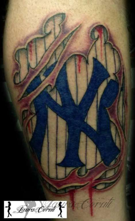 top yankees baseball logo images for pinterest tattoos. Black Bedroom Furniture Sets. Home Design Ideas
