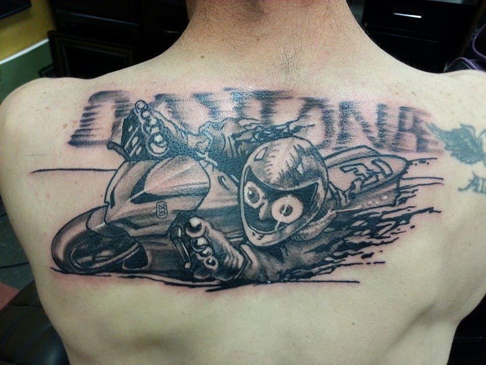 Gsxr Logo Tattoo