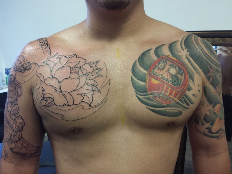 21888 Japanese Tattoo Peony Japanese on 22nd Street San Francisco