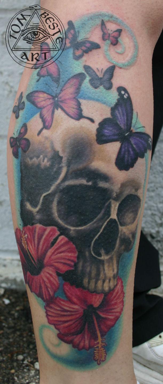 Skullbutterflieshisbiscus